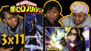 """END OF ALL MIGHT!!!? My Hero Academia 3×11 """"One For All"""" Reaction"""