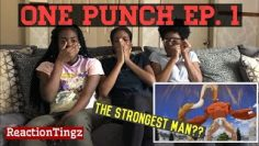 ONE PUNCH MAN | 1×1 | THE STRONGEST MAN REACTION !!