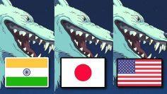 Princess Mononoke – HINDI VS JAPANESE VS ENGLISH – DUB COMPARISON