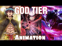 Top 10 Visually Stunning Anime Fights 🔥 🔥