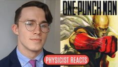 Physicist Reacts to One Punch Man