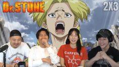 Super Fan! | DR. STONE EPISODE 3 GROUP REACTION!
