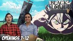Black Clover Openings (7 – 12) | Brothers Reaction & Review