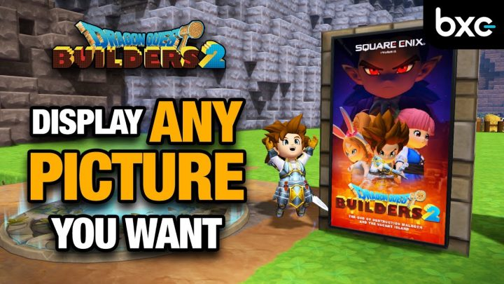 MODDING IS HERE! How to use Custom Screenshots in Dragon Quest Builders 2