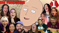 A Big Chinned Brat… One Punch Man 1×1 / Season 1 – Episode 1 / S1 – E1 – REACTION!!