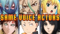 Dr Stone All Characters Japanese Dub Voice Actors Seiyuu Same Anime Characters Dr. STONE STONE WARS