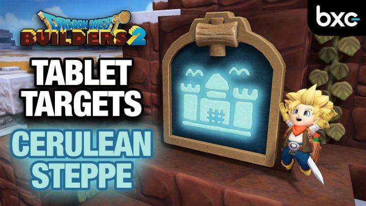 How to complete ALL Cerulean Steppe Tablet Targets | Dragon Quest Builders 2