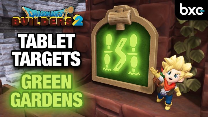 How to complete ALL Green Gardens Tablet Targets | Dragon Quest Builders 2