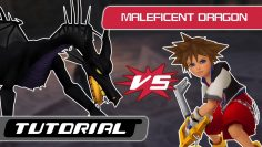 Kingdom Hearts: Maleficent Dragon Boss Tutorial