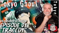 """Tokyo Ghoul – Episode 01 """"Tragedy"""" REACTION"""