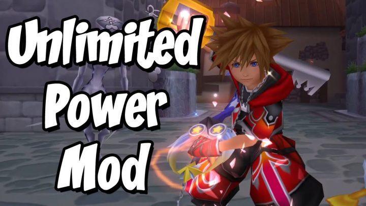 UNLIMITED POWER MOD – Kingdom Hearts Modding Begins! (First Kingdom Hearts Mods)
