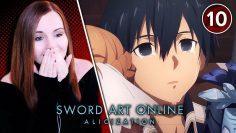 Asuna & Kirito Reunited!! – Sword Art Online: War of Underworld Ep 10 Reaction