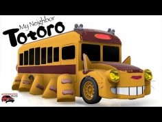 My Wife makes the Cat Bus from My Neighbor Totoro (Automation + BeamNG)
