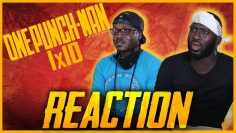 ONE PUNCH MAN 1×10 | UNPARALLELED PERIL | REACTION