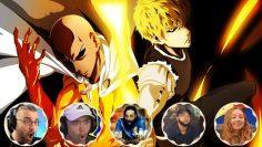 Saitama vs Genos Best Reaction Compilation | One Punch Man