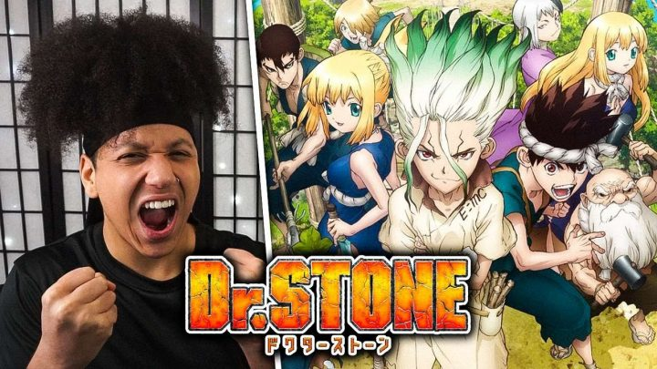 DR STONE Openings 1-3 REACTION & REVIEW   Anime OP Reaction