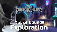 Exploring Kingdom Hearts I Areas Out of Bounds (Noclip)