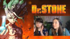 MY SISTERS REACT TO ANIME! (Dr. Stone ep 1)