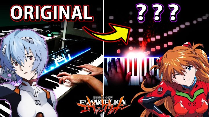 A Cruel Angel's Thesis – EVANGELION OP on piano BUT…