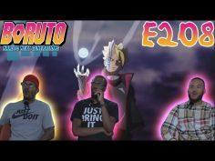 BORUSHIKI!! | BORUTO EPISODE 208 REACTION