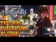 Kingdom Hearts 3 – Finally Exploring Quadratum as Sora – World Mod Preview!