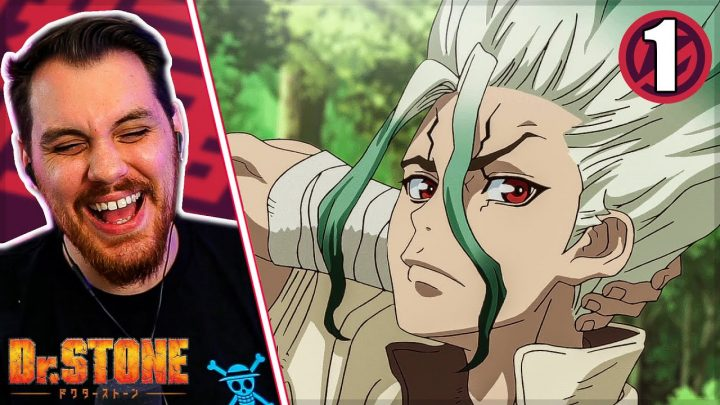 Let's Get Stoned || Dr. Stone Episode 1 REACTION + REVIEW