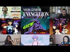 Neon Genesis Evangelion. Episode 1 [Reaction Mashup]
