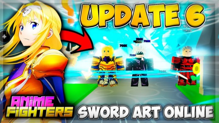 OMG!! HE Got New Secret ⚡Amy⚡ & I Got Mythical *UPDATE 6 ANIME FIGHTERS* Sword Art Online🔥