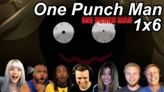 One Punch Man 1×6 Reactions | Great Anime Reactors!!! | 【ワンパンマン】【海外の反応】