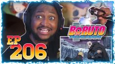 Reacting To Boruto 206 | THE BEST VERSION OF TEAM 7 !!?