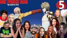 Saitama VS Genos Fight – One Punch Man 1×5 / Season 1 Episode 5 – REACTION !!