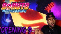 WOOOOAH WHAT WAS THAT !!?? | Boruto Opening 9 「Gamushara」 REACTION